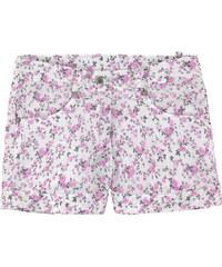 Ermanno Scervino Junior Bedruckte Shorts aus Leinen