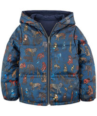 Paul Smith Junior Beidseitig tragbare Daunenjacke