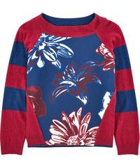 Parrot Italy Sweatshirt aus zwei Materialien