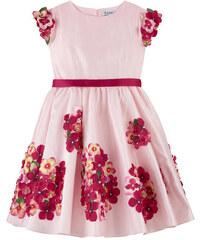 Lesy Kleid aus Taft mit Blumenmotiv