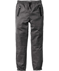 John Baner JEANSWEAR Lässige Chino mit Zippertaschen, Gr. 116-170 in grau für Jungen von bonprix