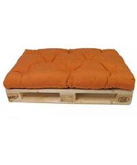 Sedák na paletový nábytek K39- oranžový