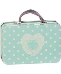 Maileg Plechový mini kufřík Dusty blue