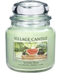 Village Candle vonná svíčka ve skle Letní pohoda - Summer Slices 16 oz