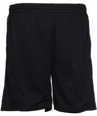 Pánské sportovní šortky - Černá a červená S