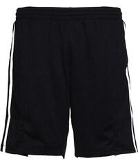 Pánské sportovní šortky - Černá a bílá S