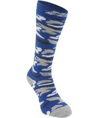 Ponožky No Fear Snowboarding 2 Pack dět. černá/modrá