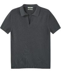 MANGO MAN Poloshirt Aus Baumwolle-/Seidengemisch