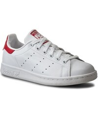 Boty adidas - Stan Smith M20326 Runwht/Runwht/Colred
