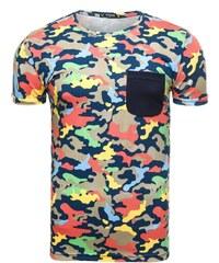 Jedinečné barevné tričko ATHLETIC 1026