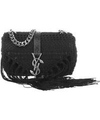 Saint Laurent Sacs à Bandoulière, Monogramme Baby Chain Bag Black en noir