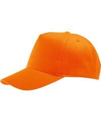 Dětská kšiltovka Sunny - Oranžová univerzal
