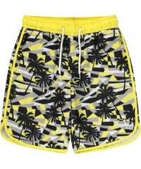 Plážové kraťasy Ocean Pacific Geometric dět. žlutá