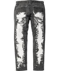 RAINBOW Jean Regular Fit Straight, Longueur (pouces) 32 noir homme - bonprix