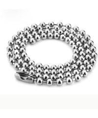 Impress Jewelry Řetízek z chirurgické oceli kuličkový - Army style 50cm