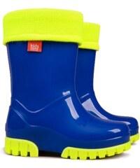 Demar Chlapecké holínky Twister LUX Fluo - modré