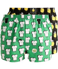 Lousy Livin Underwear T&Z 2 PACK Boxershorts black/green