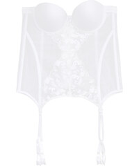 Alma Bloom Bustier Push Up - Blanc