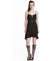 H&M Šaty s výšivkou