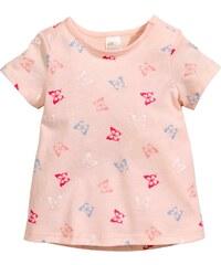 H&M Žerzejové tričko s potiskem