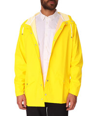 RAINS Gelber Regenmantel Jacket