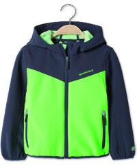 C&A Softsjacke mit Kapuze in Grün