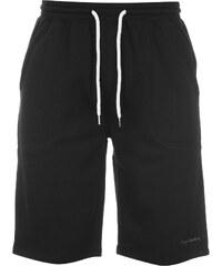 Kraťasy pánské Pierre Cardin Fleece Shorts Black