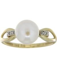 Vivance Jewels Ring mit Süßwasserzuchtperle und Brillanten