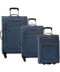 Fabrizio Weichschalen Trolley Set mit 2/4 Rollen, »Two Tone«