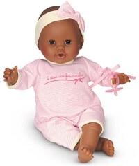 Corolle Babypuppe mit Schnuller, »Mon Bebe Classique dunkelhäutig rosa 36cm«