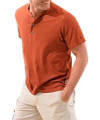 Eddie Bauer T-Shirt mit Knopfleiste EDDIE BAUER orange L,M,S,XL,XXL