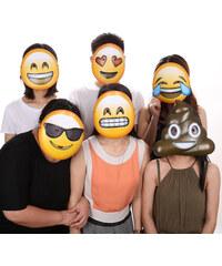 Lesara 6er-Set Maske im Emoji-Design