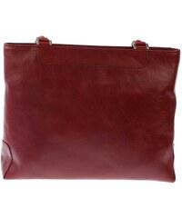 Dámská kožená kabelka Sněžka Náchod 1082, vínová