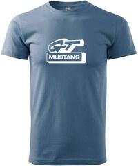 Myshirt.cz Ford Mustang GT - Heavy new - triko pánské - XS ( Denim )