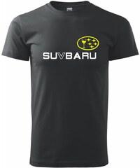 Myshirt.cz Subaru - SU V BARU - Heavy new - triko pánské - XS ( Černá )