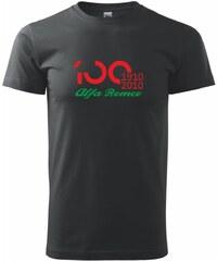 Myshirt.cz Alfa Romeo 100 let - nový - Heavy new - triko pánské - XS ( Černá )