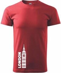 Myshirt.cz London věž - Heavy new - triko pánské - XS ( Červená )