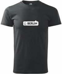 Myshirt.cz Berlin like - Heavy new - triko pánské - XS ( Černá )