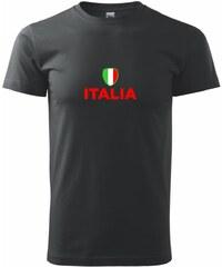 Myshirt.cz Italia vlajka - Heavy new - triko pánské - XS ( Černá )