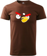 Myshirt.cz Angry Birds - Heavy new - triko pánské - XS ( Čokoládová )
