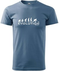 Myshirt.cz Evolution bowl - Heavy new - triko pánské - XS ( Denim )