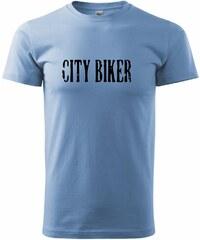 Myshirt.cz City biker - Heavy new - triko pánské - XS ( Nebesky modrá )