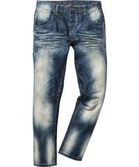RAINBOW Jean Regular Fit Tapered, Longueur (pouces) 32 bleu homme - bonprix