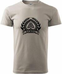 Myshirt.cz Axwell logo - Heavy new - triko pánské - XS ( Ledově šedá )