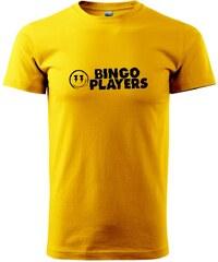 Myshirt.cz Bingo Players - Heavy new - triko pánské - XS ( Žlutá )