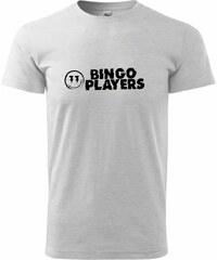 Myshirt.cz Bingo Players - Heavy new - triko pánské - XS ( Světlešedý melír )