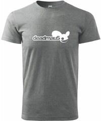 Myshirt.cz Deadmau5 (Deadmaus) - Heavy new - triko pánské - XS ( Tmavě šedý melír )