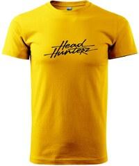 Myshirt.cz Headhunterz - Heavy new - triko pánské - XS ( Žlutá )