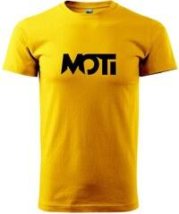Myshirt.cz MOTi - Heavy new - triko pánské - XS ( Žlutá )