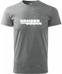 Myshirt.cz Sander van Doorn - Heavy new - triko pánské - XS ( Tmavě šedý melír )